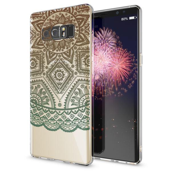 NALIA Handyhülle kompatibel mit Samsung Galaxy Note 8, Motiv Design Schutzhülle Slim Silikon Case, Crystal Handy-Tasche Hülle Muster Back-Cover Dünn, Smart-Phone Etui – Bild 14