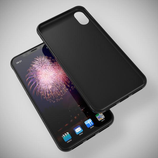 NALIA Hülle für iPhone X XS, Slim Handyhülle Silikon Case Gummi Cover, Matte Anti-Rutsch Schutz-Hülle Dünn, Etui Handy-Tasche Backcover Bumper für Apple iPhone-XS X Smartphone – Bild 14