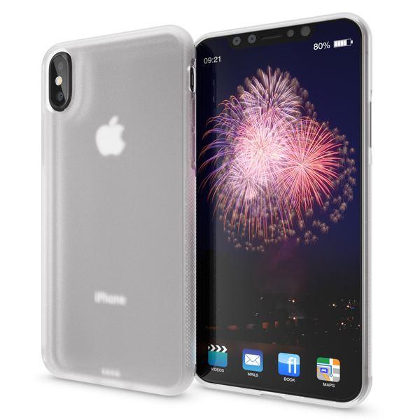 NALIA Hülle für iPhone X XS, Slim Handyhülle Silikon Case Gummi Cover, Matte Anti-Rutsch Schutz-Hülle Dünn, Etui Handy-Tasche Backcover Bumper für Apple iPhone-XS X Smartphone – Bild 7