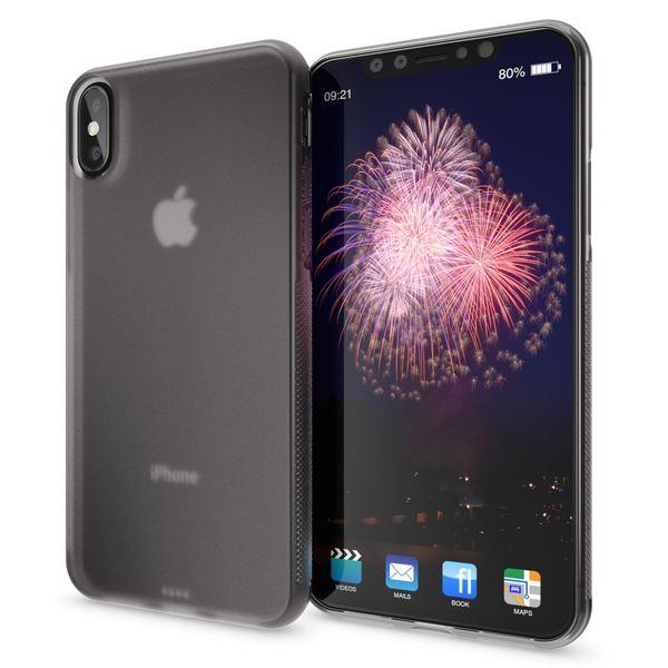 NALIA Hülle für iPhone X XS, Slim Handyhülle Silikon Case Gummi Cover, Matte Anti-Rutsch Schutz-Hülle Dünn, Etui Handy-Tasche Backcover Bumper für Apple iPhone-XS X Smartphone – Bild 2