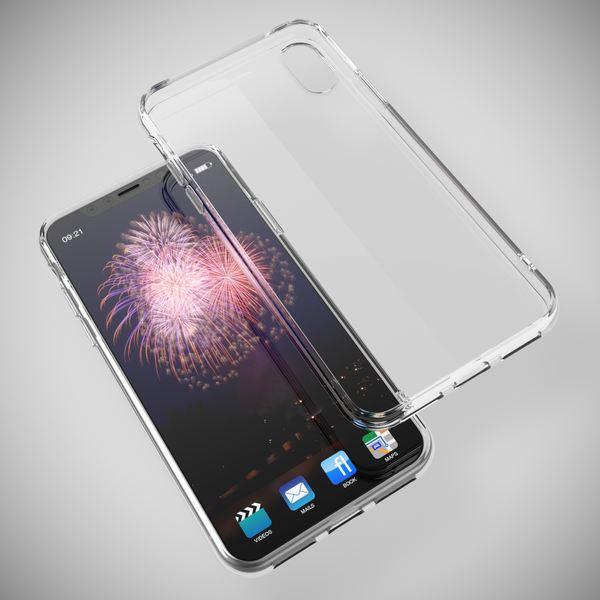 NALIA Handyhülle kompatibel mit iPhone X XS, Ultra-Slim Silikon Case Cover Crystal Schutzhülle Dünn Durchsichtig, Etui Handy-Tasche Schale Backcover Transparent Smart-Phone Bumper – Bild 4