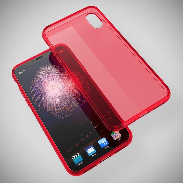 NALIA Hülle für iPhone X XS, Slim Handyhülle Silikon Case Cover Crystal Schutz-Hülle Dünn Durchsichtig, Etui Handy-Tasche Backcover Transparent Bumper für Apple iPhone-XS X – Bild 16