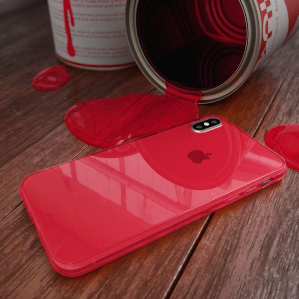 NALIA Hülle für iPhone X XS, Slim Handyhülle Silikon Case Cover Crystal Schutz-Hülle Dünn Durchsichtig, Etui Handy-Tasche Backcover Transparent Bumper für Apple iPhone-XS X – Bild 18