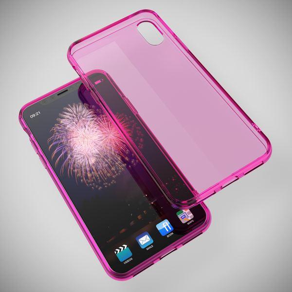 NALIA Hülle für iPhone X XS, Slim Handyhülle Silikon Case Cover Crystal Schutz-Hülle Dünn Durchsichtig, Etui Handy-Tasche Backcover Transparent Bumper für Apple iPhone-XS X – Bild 22
