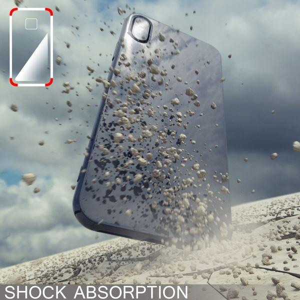 NALIA Hülle für iPhone X XS, Slim Handyhülle Silikon Case Cover Crystal Schutz-Hülle Dünn Durchsichtig, Etui Handy-Tasche Backcover Transparent Bumper für Apple iPhone-XS X – Bild 7