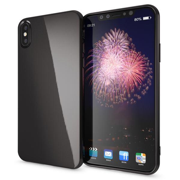 NALIA Hülle für iPhone X XS, Slim Handyhülle TPU Silikon Jelly Case, Dünnes Cover Gummi Schutz-Hülle Skin, Etui Handy-Tasche Backcover Bumper für Apple i-Phone XS X Smartphone – Bild 8
