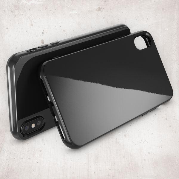 NALIA Hülle für iPhone X XS, Slim Handyhülle TPU Silikon Jelly Case, Dünnes Cover Gummi Schutz-Hülle Skin, Etui Handy-Tasche Backcover Bumper für Apple i-Phone XS X Smartphone – Bild 9