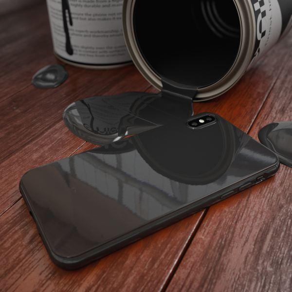 NALIA Hülle für iPhone X XS, Slim Handyhülle TPU Silikon Jelly Case, Dünnes Cover Gummi Schutz-Hülle Skin, Etui Handy-Tasche Backcover Bumper für Apple i-Phone XS X Smartphone – Bild 12