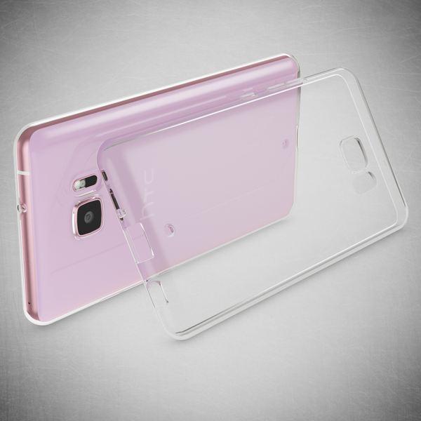 NALIA Handyhülle kompatibel mit HTC U Ultra, Ultra-Slim Soft TPU Silikon Case Cover, Crystal Clear Schutzhülle Dünn Durchsichtig, Etui Handy-Tasche Backcover Smart-Phone Hülle Bumper - Transparent – Bild 5