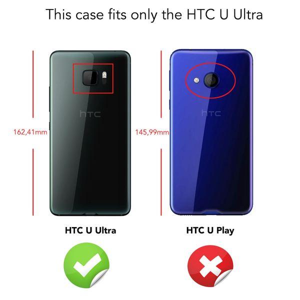 NALIA Handyhülle kompatibel mit HTC U Ultra, Ultra-Slim Soft TPU Silikon Case Cover, Crystal Clear Schutzhülle Dünn Durchsichtig, Etui Handy-Tasche Backcover Smart-Phone Hülle Bumper - Transparent – Bild 4
