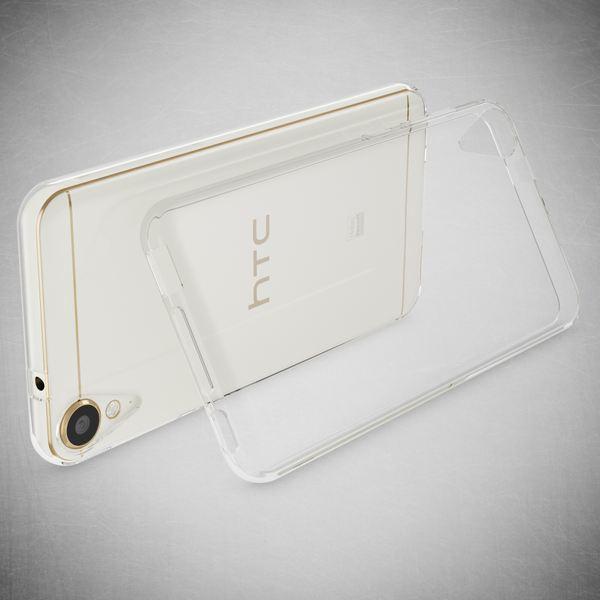 NALIA Handyhülle kompatibel mit HTC Desire 10 lifestyle, Ultra-Slim Soft TPU Silikon Case Cover, Crystal Clear Schutzhülle Dünn Durchsichtig, Handy-Tasche Backcover Smart-Phone Hülle - Transparent – Bild 2