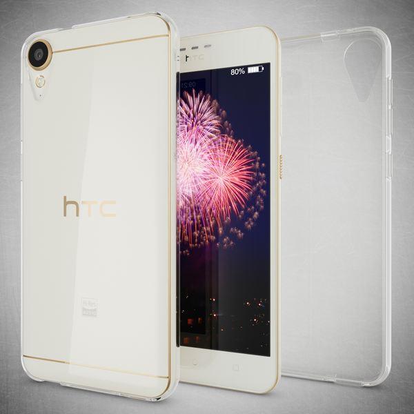 NALIA Handyhülle kompatibel mit HTC Desire 10 lifestyle, Ultra-Slim Soft TPU Silikon Case Cover, Crystal Clear Schutzhülle Dünn Durchsichtig, Handy-Tasche Backcover Smart-Phone Hülle - Transparent – Bild 6