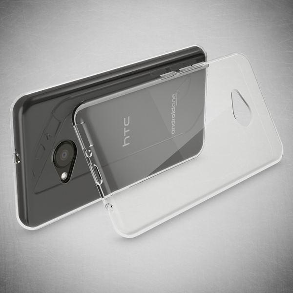 NALIA Handyhülle für HTC U Play, Soft Slim TPU Silikon Case Cover Crystal Clear Schutz-Hülle Dünn Durchsichtig, Etui Handy-Tasche Backcover Transparent, Smart-Phone Bumper für HTC U-Play – Bild 5