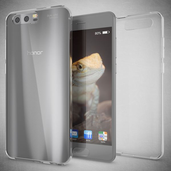 NALIA Handyhülle kompatibel mit Huawei Honor 9, Ultra-Slim Soft TPU Silikon Case Cover, Crystal Clear Schutzhülle Dünn Durchsichtig, Etui Handy-Tasche Backcover Smart-Phone Hülle Bumper - Transparent – Bild 5