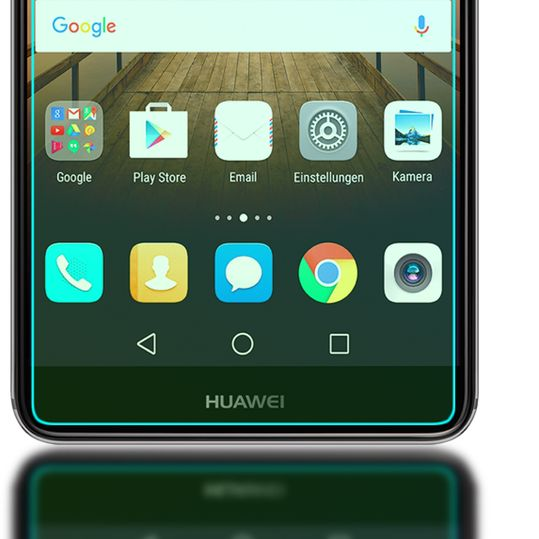 Mate 9 Panzerglas Schutzfolie von NICA, Full-Cover Displayschutz-Folie / 9H Panzerfolie Schutz-Glas / Volle Handy Display-Abdeckung Panzerglasfolie Displayfolie Glass für Huawei Mate-9 - Transparent – Bild 5
