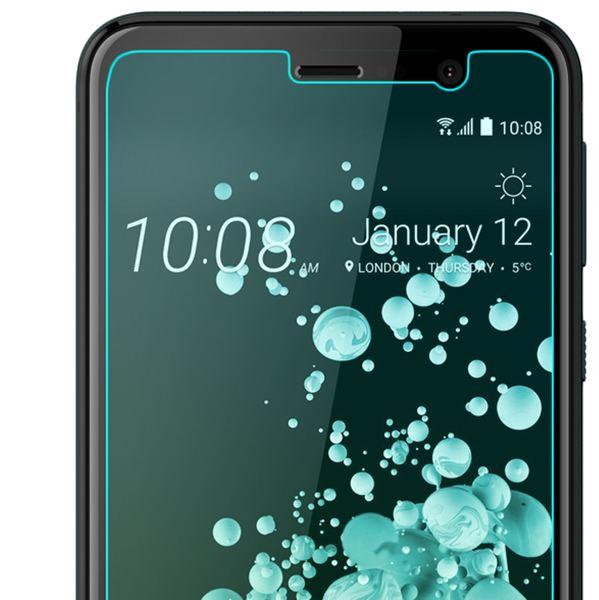 NALIA Schutzglas kompatibel mit HTC U Play, 9H Härte Glas-Schutzfolie Displayschutz Hüllen-Kompatibel, Handy-Folie Bildschirm Schutz-Film Smart-Phone HD Screen Protector Tempered Glass - Transparent – Bild 3