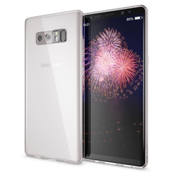 NALIA Handyhülle kompatibel mit Samsung Galaxy Note 8, Ultra-Slim Silikon Case Cover Crystal Schutzhülle Dünn Durchsichtig, Etui Handy-Tasche Backcover Transparent Smart-Phone Skin – Bild 2