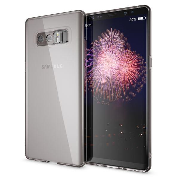 NALIA Handyhülle kompatibel mit Samsung Galaxy Note 8, Ultra-Slim Silikon Case Cover Crystal Schutzhülle Dünn Durchsichtig, Etui Handy-Tasche Backcover Transparent Smart-Phone Skin – Bild 6