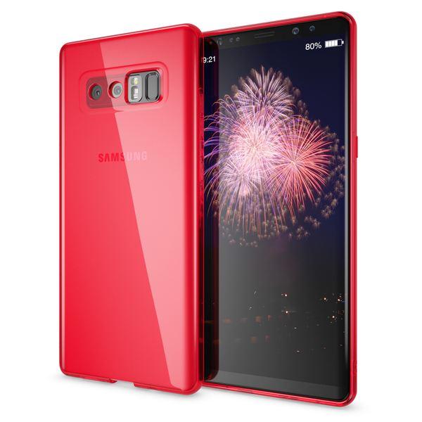 NALIA Handyhülle kompatibel mit Samsung Galaxy Note 8, Ultra-Slim Silikon Case Cover Crystal Schutzhülle Dünn Durchsichtig, Etui Handy-Tasche Backcover Transparent Smart-Phone Skin – Bild 10