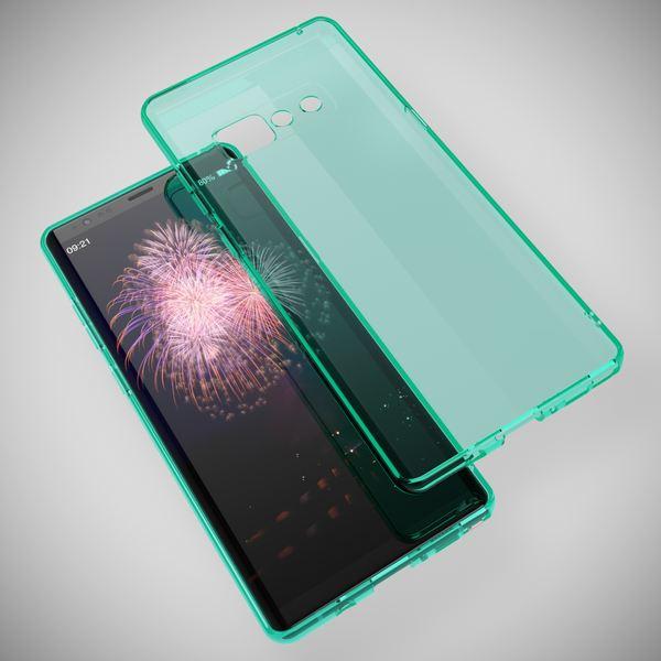 NALIA Handyhülle kompatibel mit Samsung Galaxy Note 8, Ultra-Slim Silikon Case Cover Crystal Schutzhülle Dünn Durchsichtig, Etui Handy-Tasche Backcover Transparent Smart-Phone Skin – Bild 20
