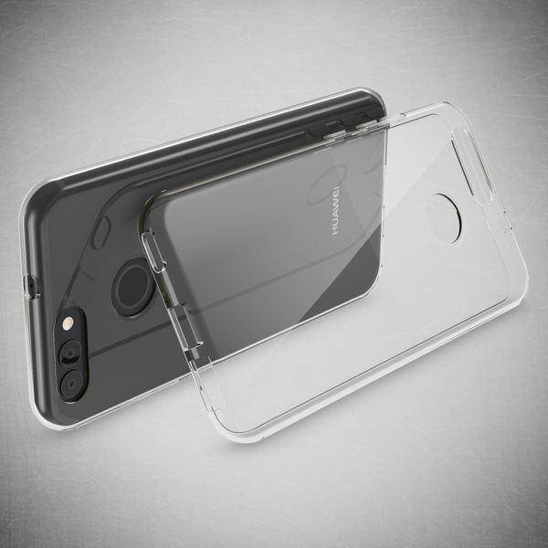 NALIA Handyhülle kompatibel mit Huawei Nova 2, Soft Slim TPU Silikon Case Cover Hülle Crystal Clear Schutzhülle Dünn Durchsichtig, Etui Handy-Tasche Back-Cover Smart-Phone Schutz Bumper - Transparent – Bild 6