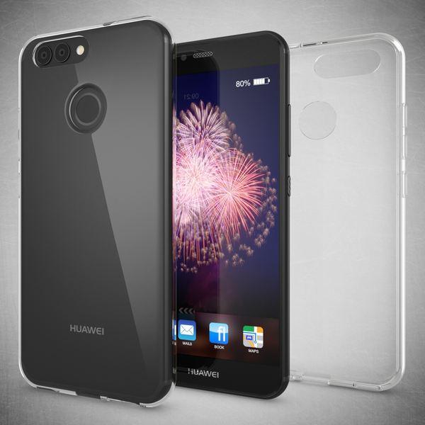 NALIA Handyhülle für Huawei Nova 2, Soft Slim TPU Silikon Case Cover Hülle Crystal Clear Schutzhülle Dünn Durchsichtig, Etui Handy-Tasche Backcover Transparent, Phone Schutz Bumper für Nova-2 – Bild 3