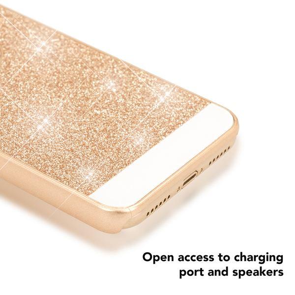 NALIA Glitzer Hülle kompatibel mit iPhone X XS, Glitter Sparkle Handyhülle Slim Hard-Case Back-Cover Schutzhülle, Dünne Bling Strass Handy-Tasche Schale Etui Smart-Phone Bumper – Bild 14