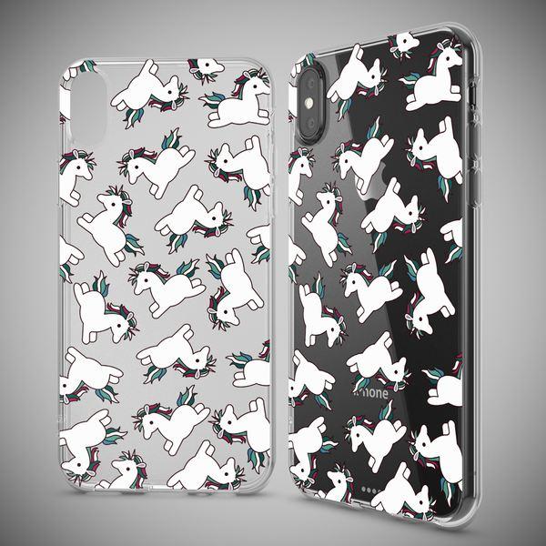 NALIA Handyhülle kompatibel mit iPhone X XS, Motiv Design Schutzhülle Ultra-Slim TPU Silikon Case Dünn, Muster Hülle Etui Handy-Tasche Telefon-Schale Smart-Phone Back-Cover – Bild 4