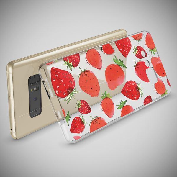 NALIA Handyhülle kompatibel mit Samsung Galaxy Note 8, Motiv Design Schutzhülle Ultra-Slim TPU Silikon Case Dünn, Muster Hülle Etui Handy-Tasche Schale Smart-Phone Back-Cover – Bild 6