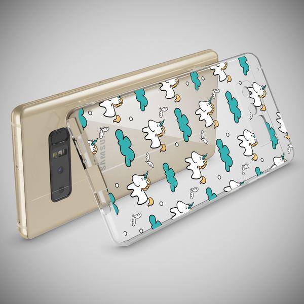 NALIA Handyhülle kompatibel mit Samsung Galaxy Note 8, Motiv Design Schutzhülle Ultra-Slim TPU Silikon Case Dünn, Muster Hülle Etui Handy-Tasche Schale Smart-Phone Back-Cover – Bild 15