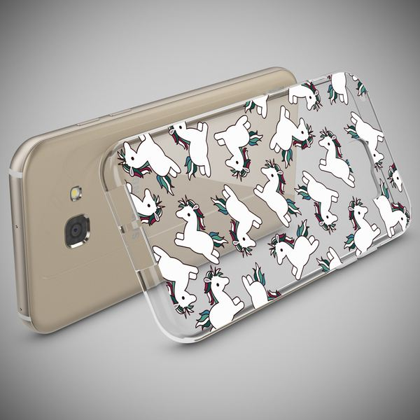 NALIA Handyhülle kompatibel mit Samsung Galaxy A3 2017, Motiv Design Schutzhülle Ultra-Slim TPU Silikon Case Dünn, Muster Hülle Etui Handy-Tasche Schale Smart-Phone Back-Cover – Bild 3