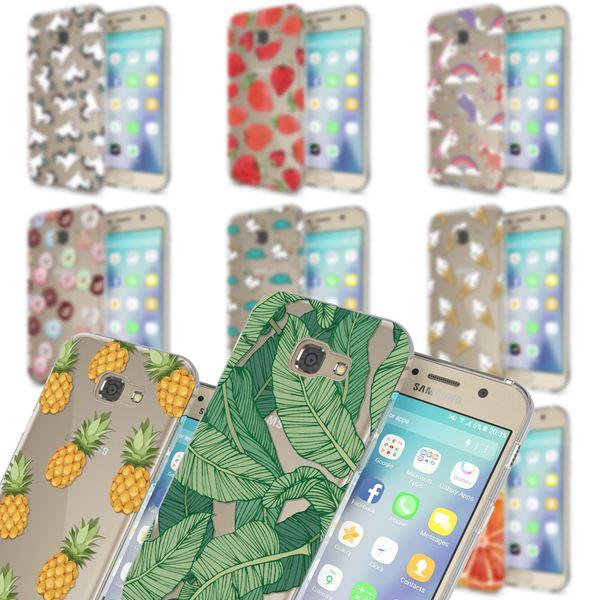 NALIA Handyhülle kompatibel mit Samsung Galaxy A3 2017, Motiv Design Schutzhülle Ultra-Slim TPU Silikon Case Dünn, Muster Hülle Etui Handy-Tasche Schale Smart-Phone Back-Cover – Bild 1