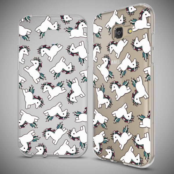 NALIA Handyhülle kompatibel mit Samsung Galaxy A5 2017, Motiv Design Schutzhülle Ultra-Slim TPU Silikon Case Dünn, Muster Hülle Etui Handy-Tasche Schale Smart-Phone Back-Cover – Bild 4