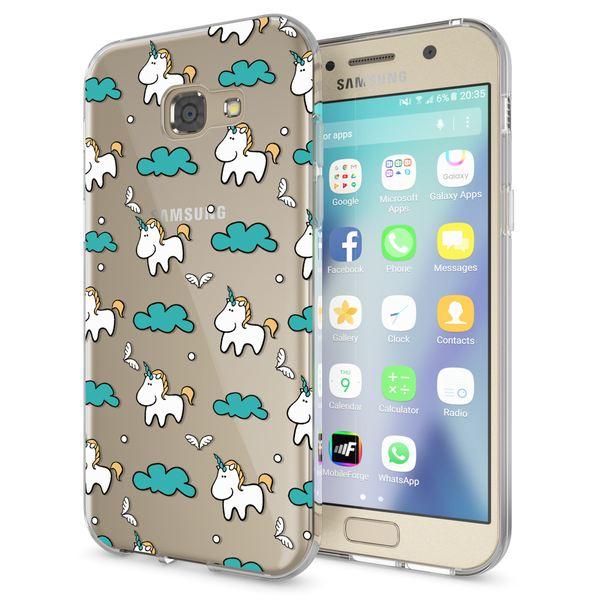 NALIA Handyhülle kompatibel mit Samsung Galaxy A5 2017, Motiv Design Schutzhülle Ultra-Slim TPU Silikon Case Dünn, Muster Hülle Etui Handy-Tasche Schale Smart-Phone Back-Cover – Bild 18