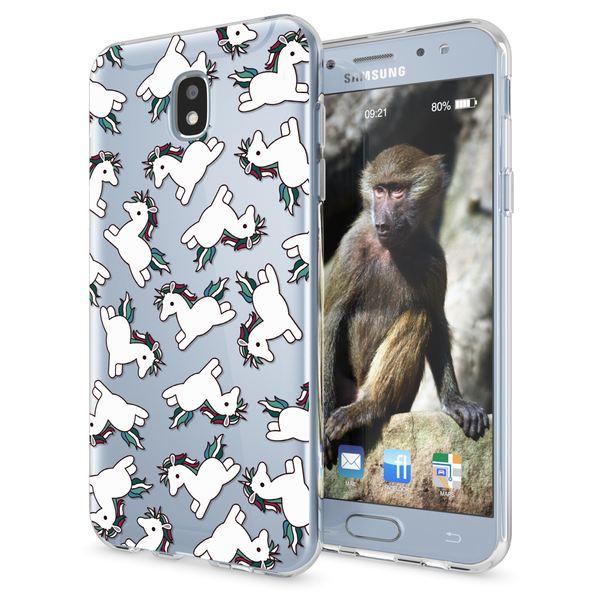 NALIA Handyhülle kompatibel mit Samsung Galaxy J5 2017 (EU-Modell), Motiv Design Schutzhülle Slim TPU Silikon Case Dünn, Muster Hülle Etui Handy-Tasche Smart-Phone Back-Cover – Bild 2