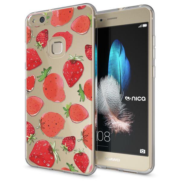 NALIA Handyhülle für Huawei P10 Lite, Slim Silikon Motiv Case Cover Crystal Schutz-Hülle Dünn Durchsichtig, Etui Handy-Tasche Backcover Transparent Bumper für P10Lite – Bild 6