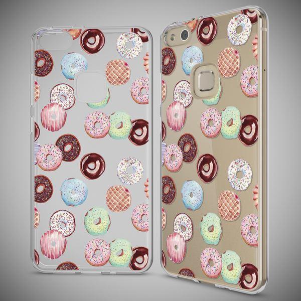 NALIA Handyhülle für Huawei P10 Lite, Slim Silikon Motiv Case Cover Crystal Schutz-Hülle Dünn Durchsichtig, Etui Handy-Tasche Backcover Transparent Bumper für P10Lite – Bild 16