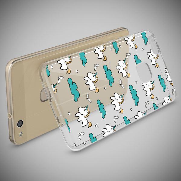 NALIA Handyhülle für Huawei P10 Lite, Slim Silikon Motiv Case Cover Crystal Schutz-Hülle Dünn Durchsichtig, Etui Handy-Tasche Backcover Transparent Bumper für P10Lite – Bild 19