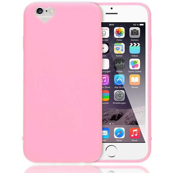 iPhone 6 Plus 6S Plus Hülle Herz Handyhülle von NALIA, Silikon Case Schutz Gummihülle, Soft Slim Cover Etui Dünne Handy-Tasche, Phone Back-Cover Skin Bumper für Apple iP 6+ / 6S+ – Bild 20