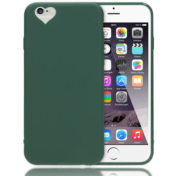 iPhone 6 Plus 6S Plus Hülle Herz Handyhülle von NALIA, Silikon Case Schutz Gummihülle, Soft Slim Cover Etui Dünne Handy-Tasche, Phone Back-Cover Skin Bumper für Apple iP 6+ / 6S+ – Bild 14