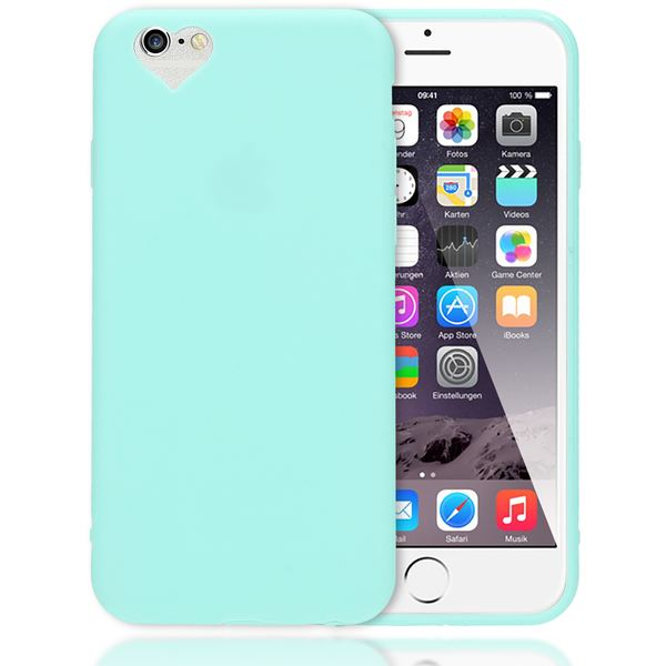 iPhone 6 Plus 6S Plus Hülle Herz Handyhülle von NALIA, Silikon Case Schutz Gummihülle, Soft Slim Cover Etui Dünne Handy-Tasche, Phone Back-Cover Skin Bumper für Apple iP 6+ / 6S+ – Bild 8