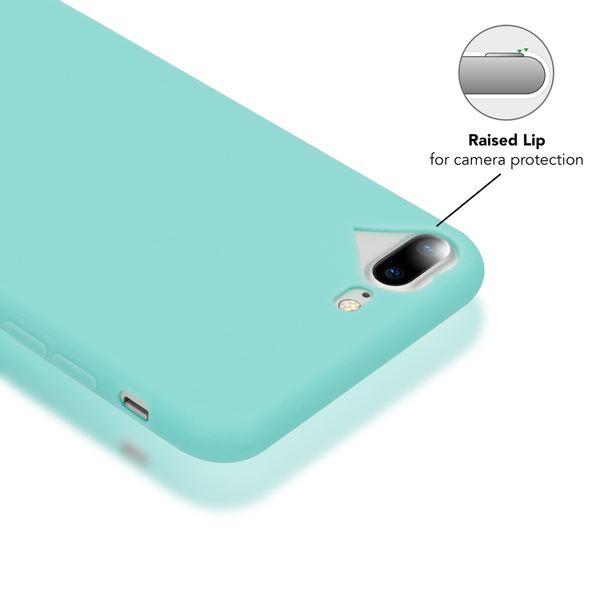 NALIA Herz-Handyhülle für iPhone 7 Plus / 8 Plus, Silikon Case Schutz-Hülle Gummihülle, Soft Slim Cover Etui Dünne Handy-Tasche, Phone Back-Cover Bumper für Apple iP 7+ / 8+ – Bild 3