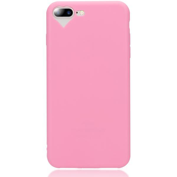 NALIA Herz-Handyhülle für iPhone 7 Plus / 8 Plus, Silikon Case Schutz-Hülle Gummihülle, Soft Slim Cover Etui Dünne Handy-Tasche, Phone Back-Cover Bumper für Apple iP 7+ / 8+ – Bild 22