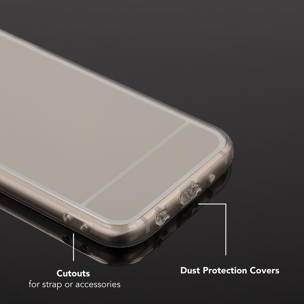 NALIA Spiegel Hülle kompatibel mit Samsung Galaxy J5 2017 (EU-Modell), Ultra-Slim Mirror Case Cover Silikon Handyhülle, Dünne Schutzhülle Backcover verspiegelt, Handy-Tasche Etui – Bild 10