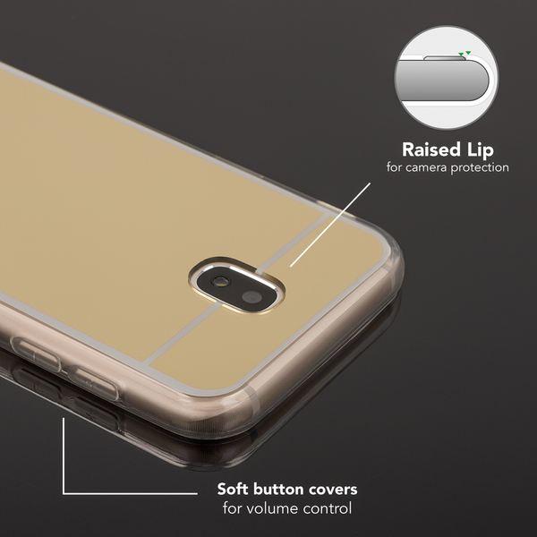 NALIA Spiegel Hülle kompatibel mit Samsung Galaxy J5 2017 (EU-Modell), Ultra-Slim Mirror Case Cover Silikon Handyhülle, Dünne Schutzhülle Backcover verspiegelt, Handy-Tasche Etui – Bild 15
