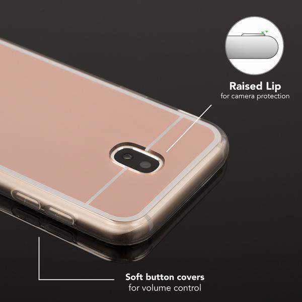 NALIA Spiegel Hülle kompatibel mit Samsung Galaxy J5 2017 (EU-Modell), Ultra-Slim Mirror Case Cover Silikon Handyhülle, Dünne Schutzhülle Backcover verspiegelt, Handy-Tasche Etui – Bild 21