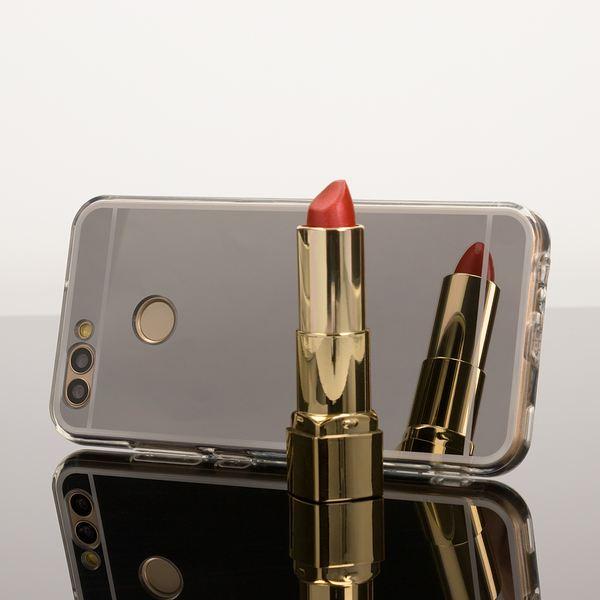 NALIA Spiegel Handyhülle für Huawei Nova 2, Ultra-Slim Mirror Case Cover Silikon-Hülle, Dünne Schutz-Hülle Backcover verspiegelt, Handy-Tasche Bumper Phone Etui für Huawei Nova 2 – Bild 5