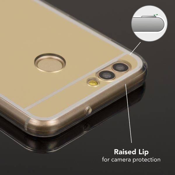 NALIA Spiegel Hülle kompatibel mit Huawei Nova 2, Ultra-Slim Mirror Case Cover Silikon Handyhülle, Dünne Schutzhülle Backcover verspiegelt, Handy-Tasche Bumper Skin Smart-Phone Etui – Bild 7