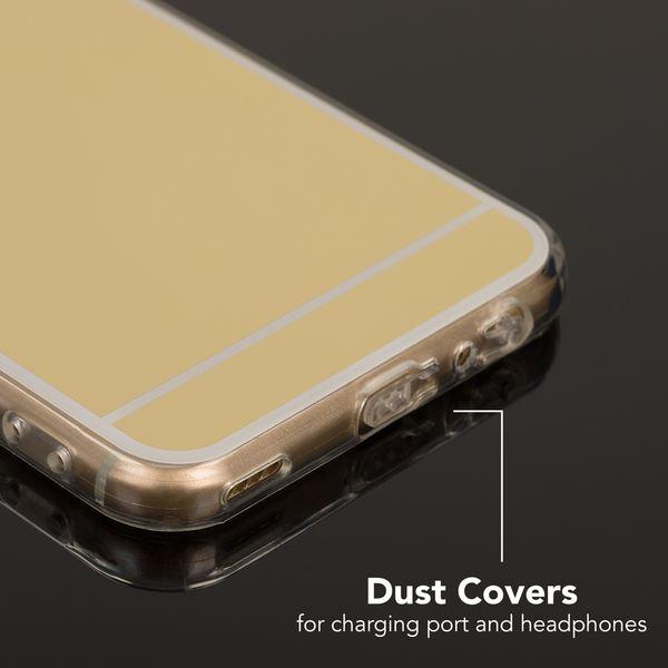 NALIA Spiegel Handyhülle für Huawei Nova 2, Ultra-Slim Mirror Case Cover Silikon-Hülle, Dünne Schutz-Hülle Backcover verspiegelt, Handy-Tasche Bumper Phone Etui für Huawei Nova 2 – Bild 8