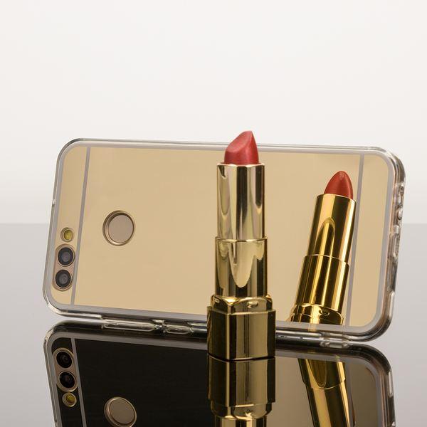 NALIA Spiegel Handyhülle für Huawei Nova 2, Ultra-Slim Mirror Case Cover Silikon-Hülle, Dünne Schutz-Hülle Backcover verspiegelt, Handy-Tasche Bumper Phone Etui für Huawei Nova 2 – Bild 9